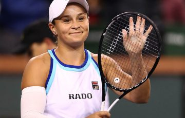 Ashleigh Barty (Photo by Clive Brunskill/Getty Images)
