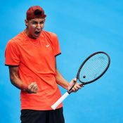With many impressive firsts already this season, Alexei Popyrin is charging towards the world's top 100; Getty Images