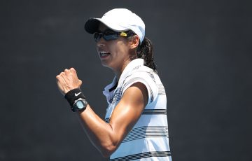 NEW HIGH: Astra Sharma is now a top 100-ranked singles player; Getty Images