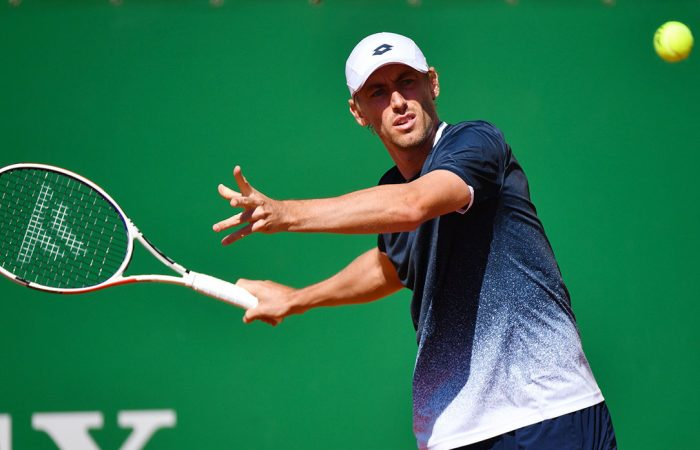 STRONG START: John Millman only need 58 minutes to win his first-round match in Budapest; Getty Images
