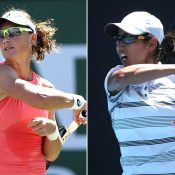 Sam Stosur (L) and Astra Sharma (Getty Images)