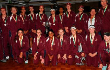 Queensland win the 2019 Pizzey Cup