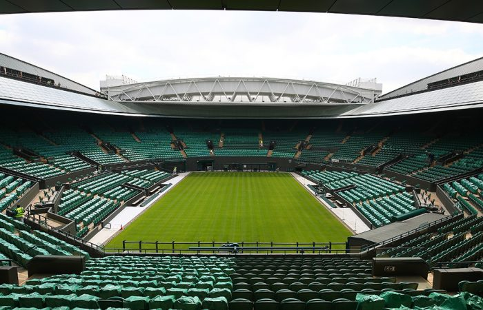 The new roof over Wimbledon's No.1 Court (Getty Images)