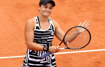 PARIS, FRANCE - MAY 30: Ashleigh Barty of Australia celebrates victory during her ladies singles second round match against Danielle Collins of The United States during Day five of the 2019 French Open at Roland Garros on May 30, 2019 in Paris, France. (Photo by Adam Pretty/Getty Images)