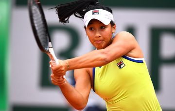 PARIS, FRANCE - MAY 30: Priscilla Hon of Australia during her ladies singles second round match against Madison Keys of The United States during Day five of the 2019 French Open at Roland Garros on May 30, 2019 in Paris, France. (Photo by Clive Mason/Getty Images)