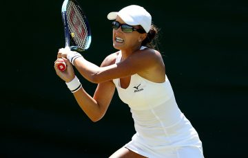 Arina Rodionova at Wimbledon qualifying (Getty Images)