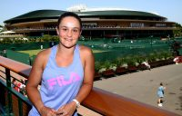 Ash Barty at the All England Club (Getty Images)