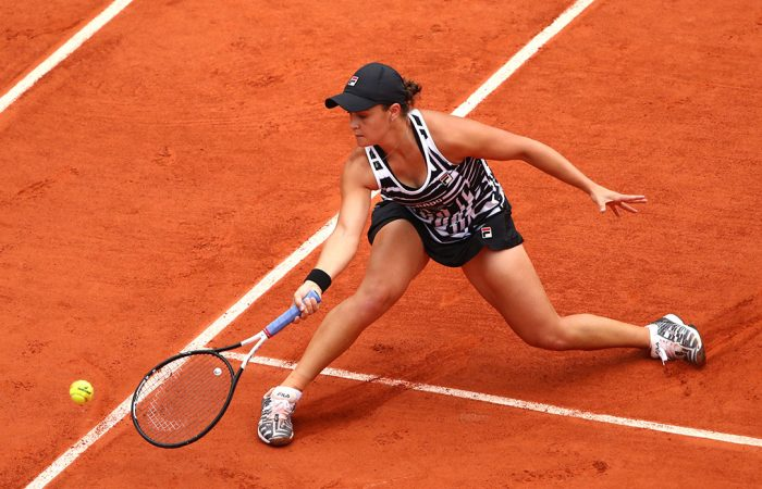 ONE TO WATCH: Ash Barty is impressing many with her Roland Garros run; Getty Images