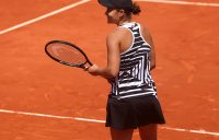 PARIS, FRANCE - JUNE 06: Ashleigh Barty of Australia celebrates victory during her ladies singles quarter-final match against Madison Keys of The United States during Day twelve of the 2019 French Open at Roland Garros on June 06, 2019 in Paris, France. (Photo by Alex Pantling/Getty Images)