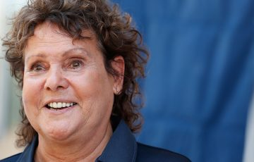 DARWIN, AUSTRALIA - SEPTEMBER 06:  Evonne Goolagong Cawley; Getty Images