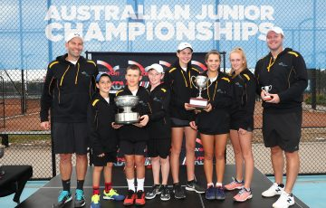 GOLD COAST, AUSTRALIA - JULY 04: Australia Junior Championships on July 04, 2019 in Gold Coast, Australia. (Photo by Chris Hyde/Getty Images)
