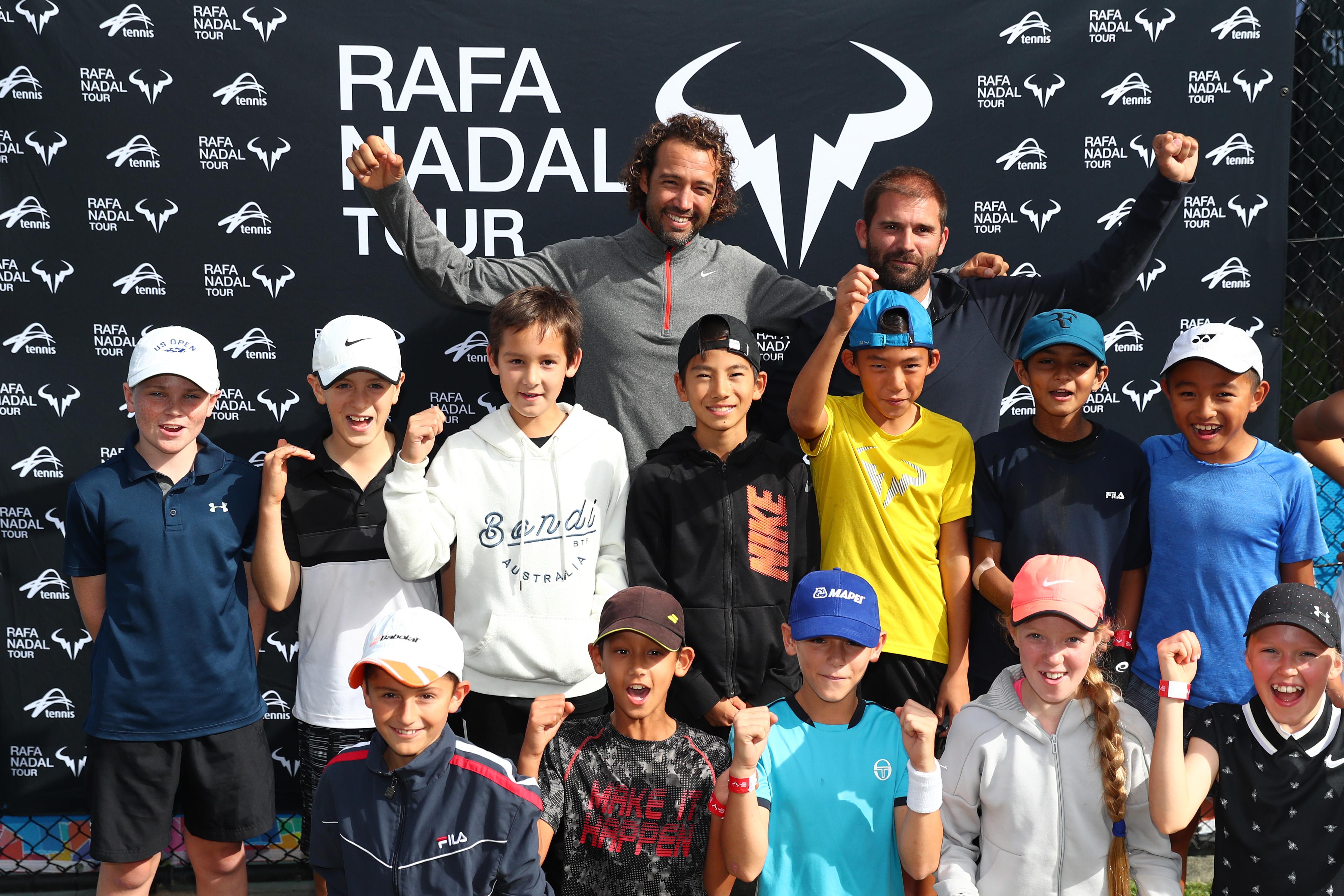 fd60fb7de9 First Australian stop of Rafa Nadal Tour wraps on the Gold Coast   5 ...