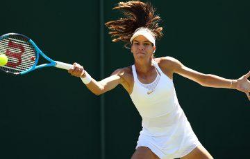 Ajla Tomljanovic at Wimbledon (Getty Images)