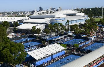 General view over Melbourne Park during Australian Open 2019 (Getty Images)