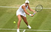 Ash Barty in action at Wimbledon (Getty Images)