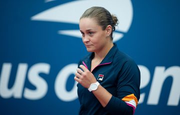 Ash Barty at Flushing Meadows ahead of the 2019 US Open, where she is the No.2 seed (Getty Images)