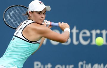 Ash Barty rallies to reach the Cincinnati semifinals; Getty Images