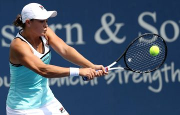 Ash Barty falls to Svetlana Kuznetsova in the Cincinnati semifiinals; Getty images