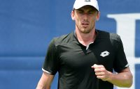 John Millman in action at the recent ATP event in Winston-Salem (Getty Images)
