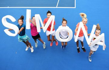 Young players welcome the news of Simona Halep's participation at next year's new Adelaide International (Getty Images)