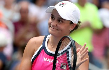 Ash Barty at the US Open (Getty Images)