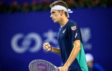Alex de Minaur triumphs at the ATP Zhuhai Championships (Getty Images)