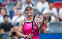 Ash Barty progresses to a third semifinal in Wuhan; Getty Images