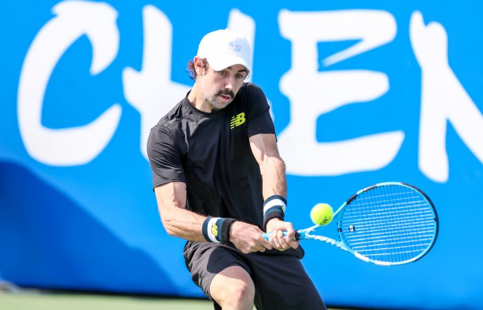 MOVING ON: Jordan Thompson posted a first-round win in Chengdu; Picture: Chengdu Open