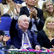 Rod Laver at US Open 2019, 50 years after he won the title in 1969 (Getty Images)