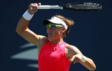 Sam Stosur in action at the US Open (Getty Images)