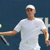 Tristan Schoolkate in action at the US Open (Getty Images)