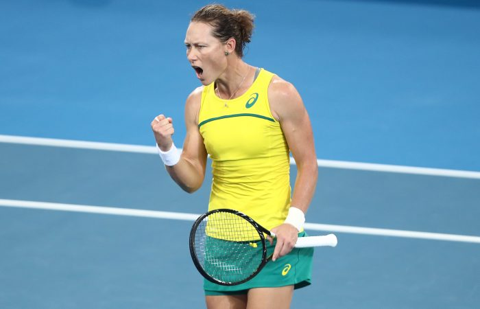 STILL GOING STRONG: Sam Stosur is still inspiring others at age 35. Picture: Getty Images