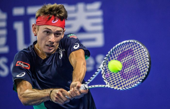 ONE TO WATCH: Alex de Minaur is competing in an ATP Masters 1000 event in Shanghai this week; Getty Images