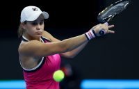 Ash Barty in action at the China Open in Beijing (Getty Images)