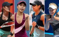 (L-R) Kaylah McPhee, Lizette Cabrera, Astra Sharma and Maddison Inglis all recorded career-high rankings in 2019. (Getty Images)