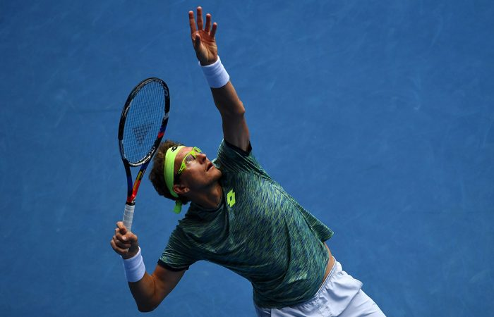 Denis Istomin. (Getty Images)