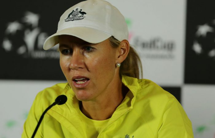 Australian Fed Cup captain Alicia Molik; Getty Images