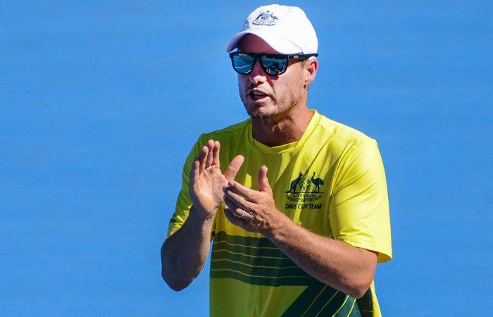 Australian Davis Cup captain Lleyton Hewitt. (Getty Images)