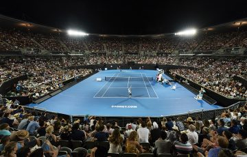 SYDNEY, AUSTRALIA - JANUARY 12: Sydney Olympic Park Tennis Centre; Getty Images