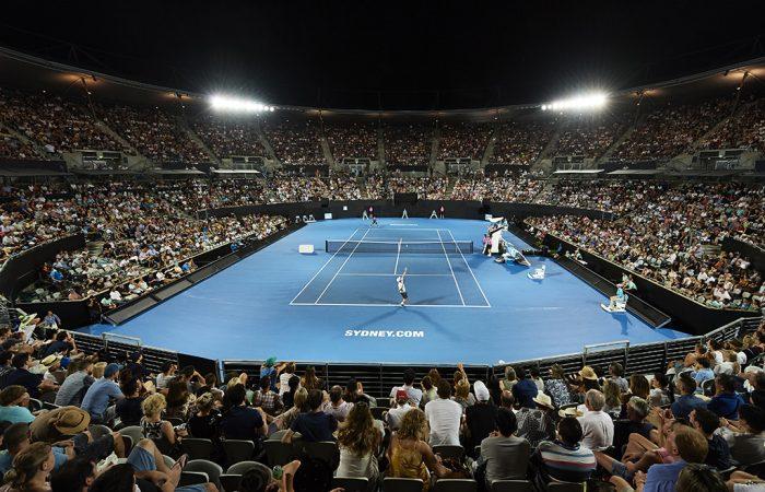 SYDNEY, AUSTRALIA - JANUARY 12: Sydney Olympic Park Tennis Centre; Getty Images