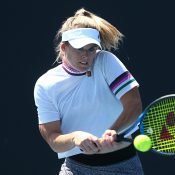 Belinda Woolcock in action during the Australian Open 2020 Play-off at Melbourne Park. (Getty Images)