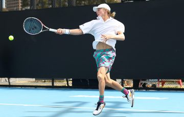 Dane Sweeny in action during the 18/u Australian Championships at the December Showdown. (Getty Images)