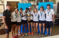 Kelvin Grove State College, champions of the girls' event at the Australian Schools Tennis Challenge in Albury.