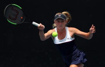 Taylah Preston in action during the 14/u Australian Championships at the December Showdown. (Getty Images)