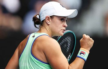 Ash Barty at Australian Open 2020; Getty Images