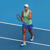 Ash Bart at Australian Open 2020; Getty Images