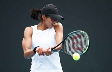 Astra Sharma at AO2020; Getty Images