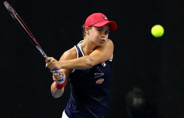 Ash Barty at the Brisbane International