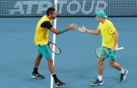 Nick Kyrgios and Alex de Minaur have teamed superbly at the ATP Cup; Getty Images