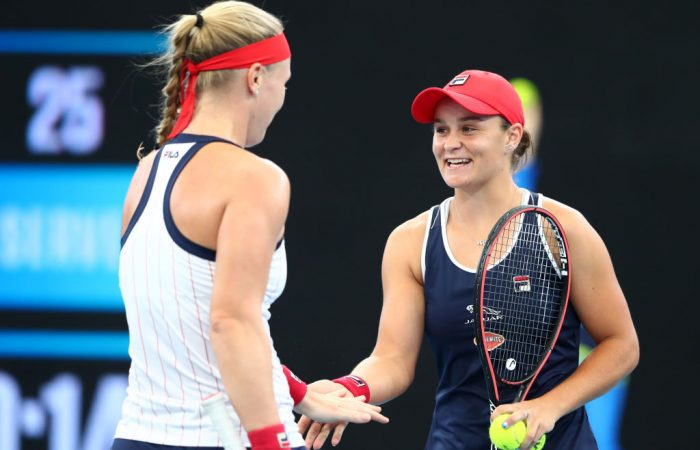 Ash Barty and Kiki Bertens are runners-up at the 2020 Brisbane International; Getty Images